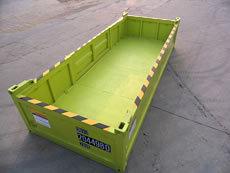 20' DNVISO Half Height Offshore Cargo Basket